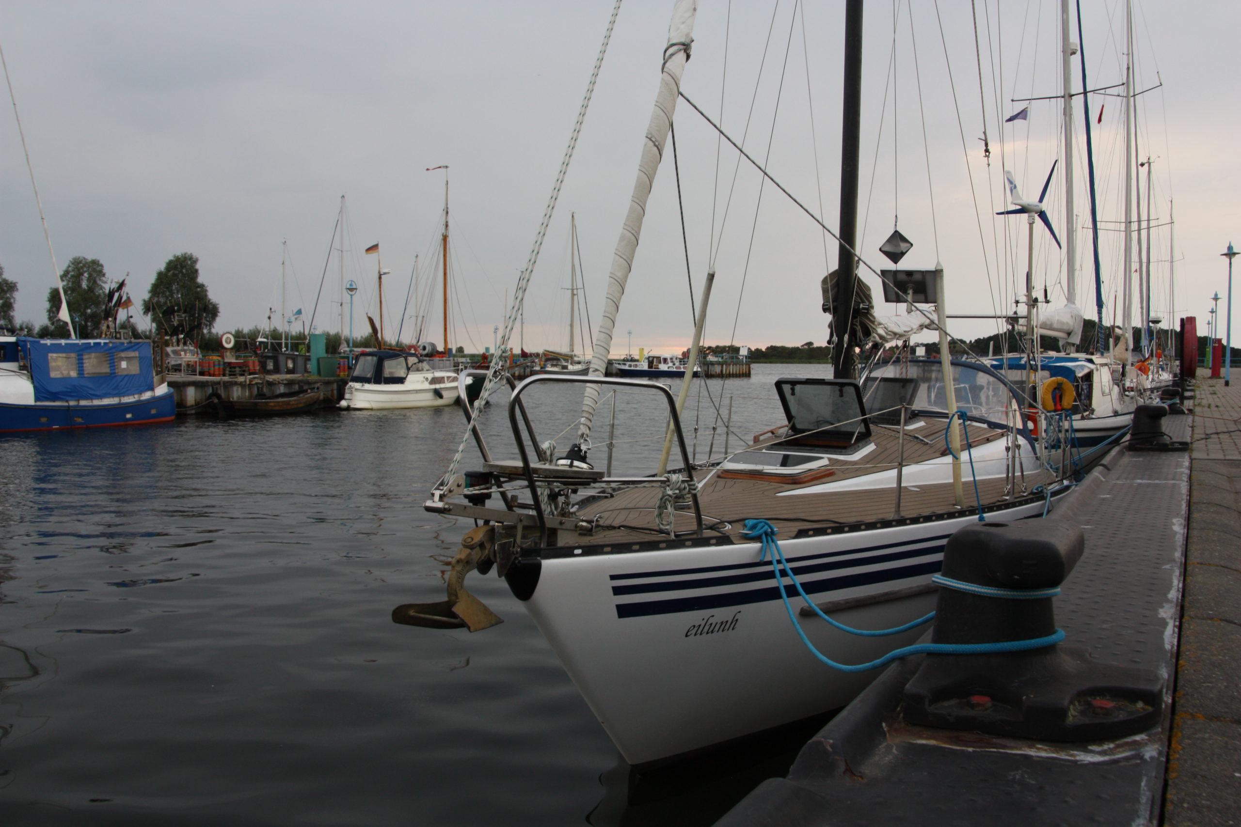 Gemütlicher Fischereihafen Thiessow