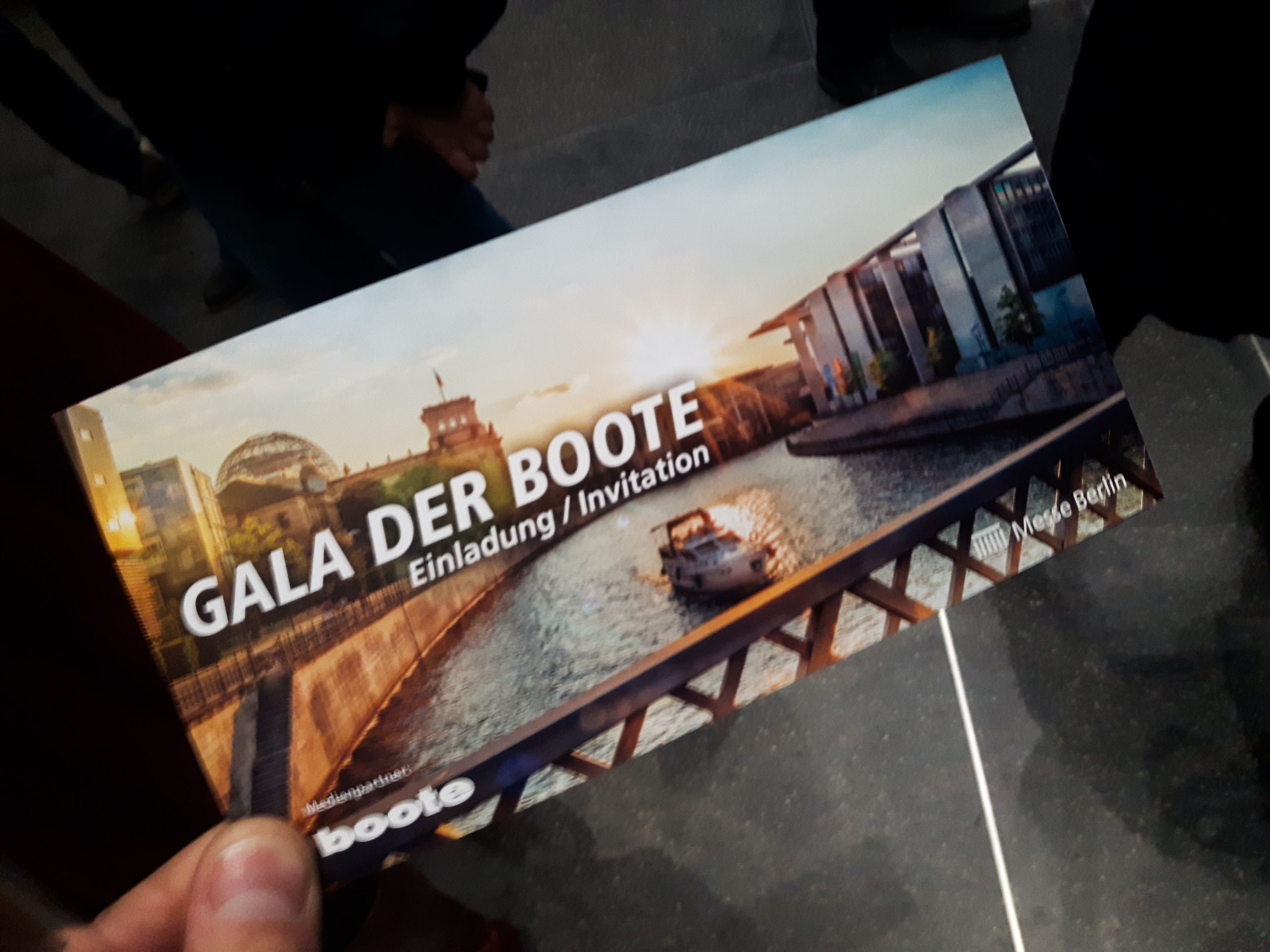 SVH auf der Gala-Nacht der Boote
