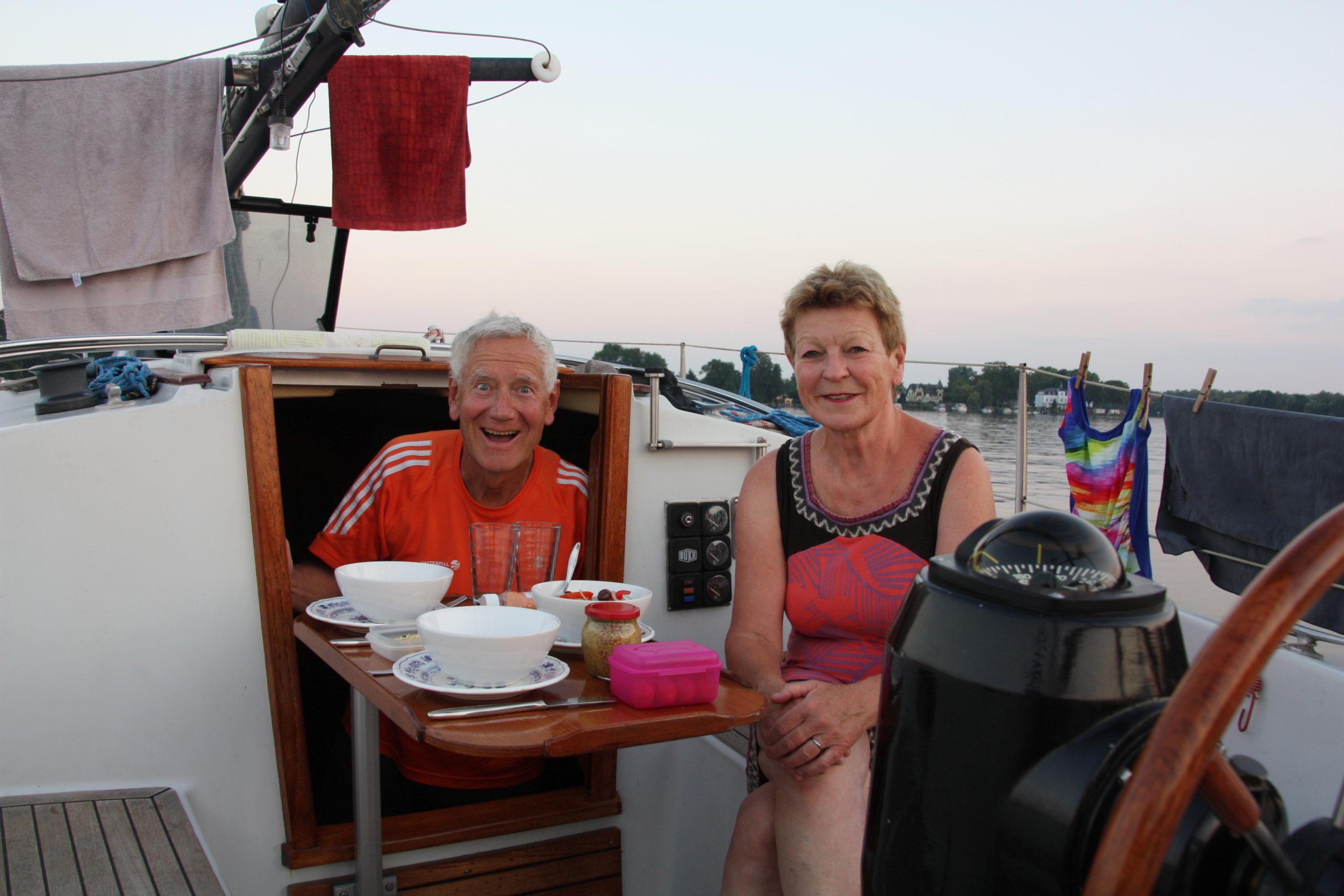 Abends auf dem Nieder Neuendorfer See