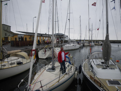 Eingeweht in Nexö auf Bornholm