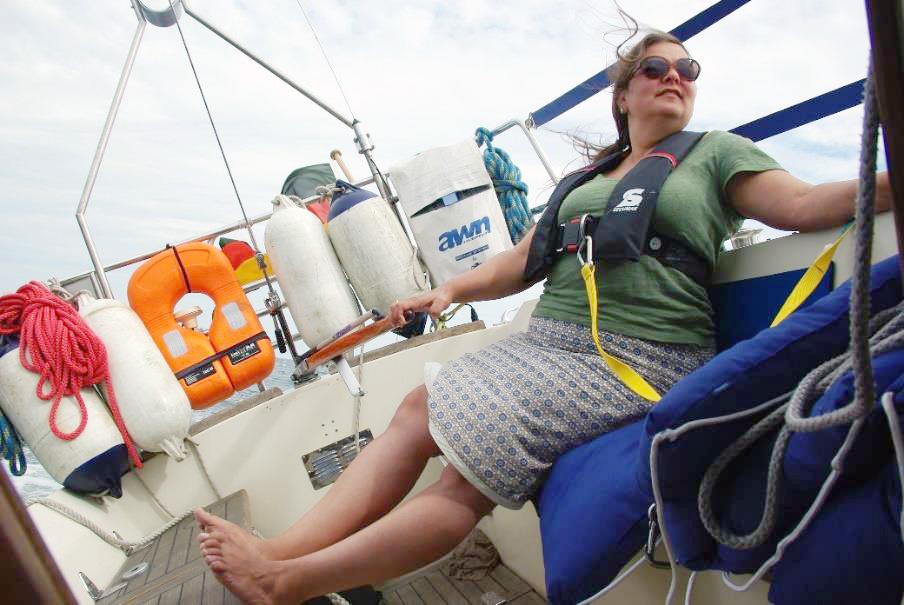Hoch am Wind nach Hiddensee