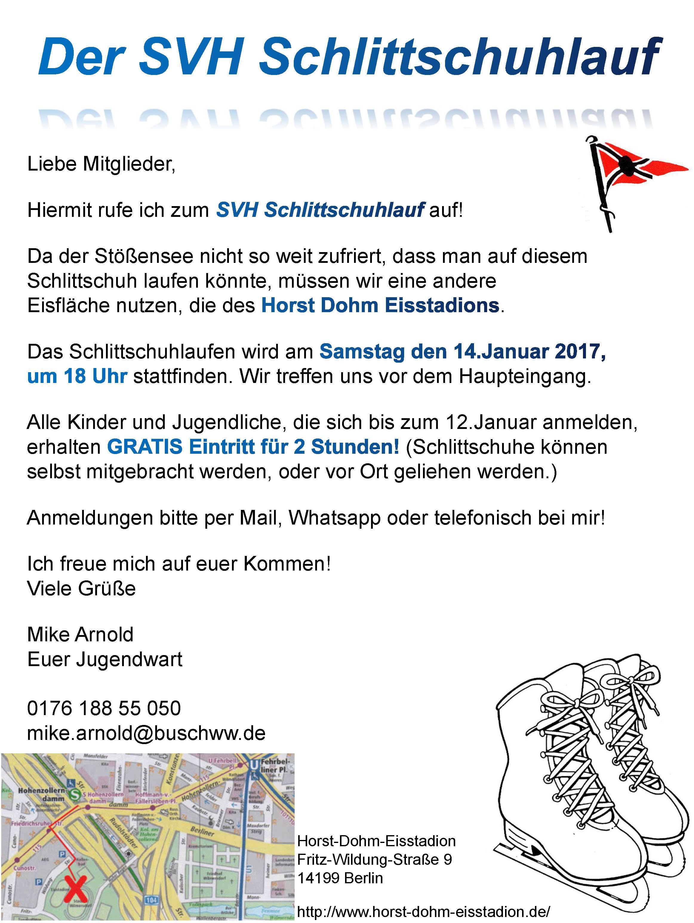 SVH Schlittschuhlauf 2016