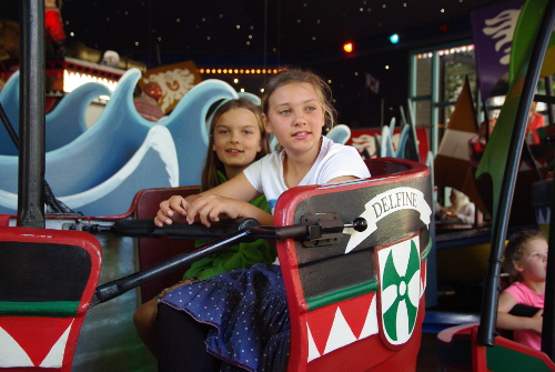 Kinder in Tivoli